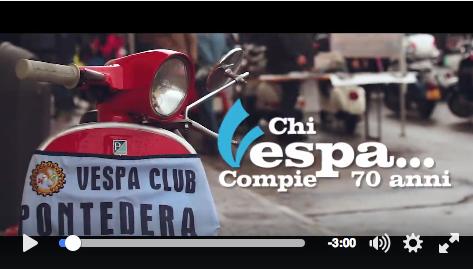 Video 70 anni vespa piaggio pontedera