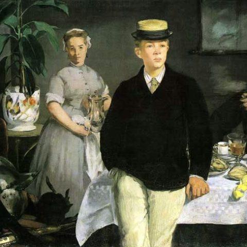 la-cittadella-caffe-edouard-manet-prima-colazione-in-studio-giacca-nera